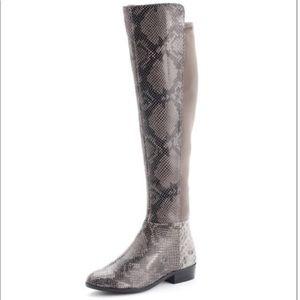 Michael Kors Bromley Python Over the Knee Boot 9